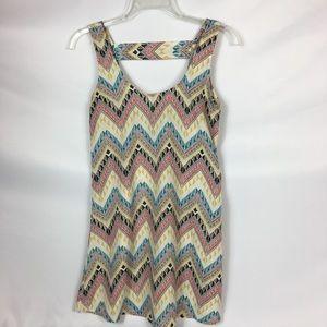 Lucy Love Chevron Style Willow Mini Dress